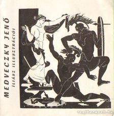 Devecseri Gábor - Medveczky Jenő Íliász illusztrációi [antikvár]