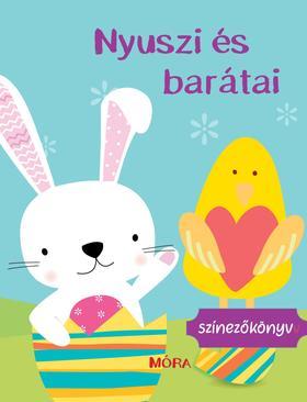 Nyuszi és barátai - Színezőkönyv