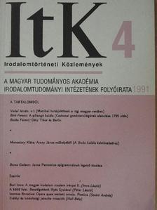 Báró Wesselényi István - Irodalomtörténeti Közlemények 1991/4. [antikvár]