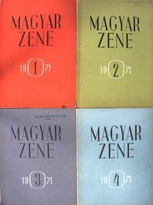 Dr. Orbán László - Magyar Zene 1971/1-4. [antikvár]