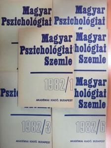 Csepeli György - Magyar Pszichológiai Szemle 1982/1-6. [antikvár]