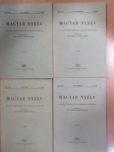 A. Kövesi Magda - Magyar Nyelv 1968/1-4. [antikvár]