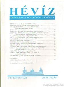 Laczkó András - Hévít 2001 / 1. szám VIII. évfolyam [antikvár]
