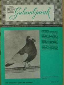 Boros Csaba - Galambjaink 1987. december [antikvár]