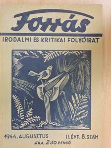 Bory István - Forrás 1944. augusztus [antikvár]