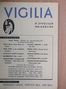 Angelus Silesius - Vigilia 1938. március [antikvár]