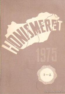 Honismeret 1975. 1-2. [antikvár]