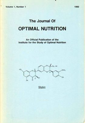 Leibovitz, Brian (főszerk.) - A Journal of Optimal Nutrition Vol. 1, No. 1 [antikvár]