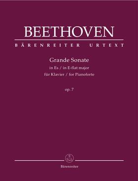 BEETHOVEN - GRANDE SONATE IN ES MAJOR FÜR KLAVIER OP.7 (JONATHAN DEL MAR)