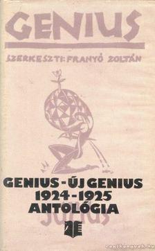Kovács János - Genius - Új Genius 1924-1925 [antikvár]