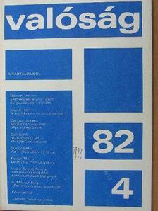 Bokor Péter - Valóság 1982. április [antikvár]