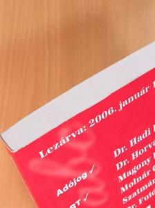 Dr. Futó Gábor - Adó 2006 magyarázatok [antikvár]