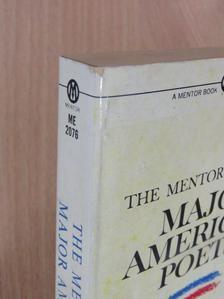 Edward Taylor - The Mentor Book of Major American Poets [antikvár]
