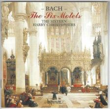 Bach - THE SIX MOTETS CD HARRY CHRISTOPHERS, THE SIXTEEN