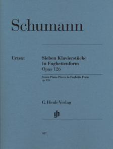 Schumann, Robert - SIEBEN KLAVIERSTÜCKE IN FUGHETTENFORM OP.126 URTEXT (HERTTRICH/SCHILDE)