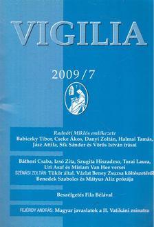 Lukács László - Vigilia 2009/7 [antikvár]