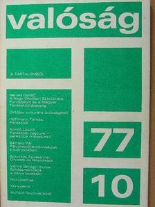 Almási Miklós - Valóság 1977. október [antikvár]