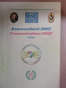 Farkas Tibor - Kommunikáció 2007. I. [antikvár]