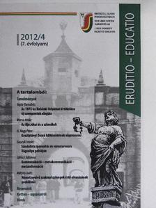 Baka L. Patrik - Eruditio - Educatio 2012/4. [antikvár]