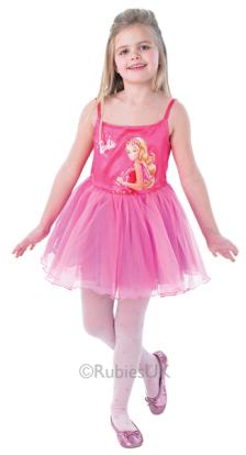 Rubies Barbie Balerina rózsaszín jelmez M
