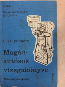 Surányi Endre - Magánautósok vizsgakönyve [antikvár]