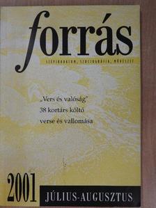 Aczél Géza - Forrás 2001. július-augusztus [antikvár]