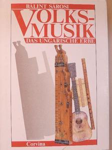 Sárosi Bálint - Volksmusik [antikvár]