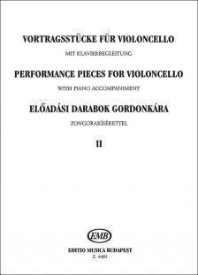 ELŐADÁSI DARABOK GORDONKÁRA ZONGORAKÍSÉRETTEL II (CSÁTH EMŐKE-BRODSZKY F.)