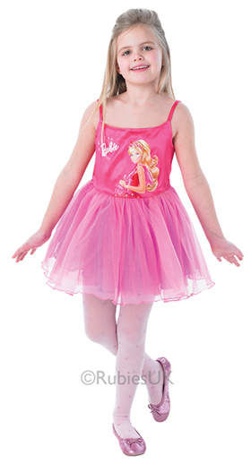 Rubies Barbie Balerina rózsaszín jelmez L