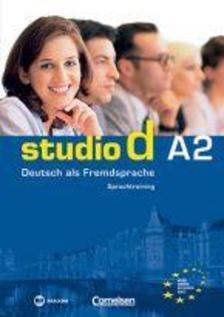 MX-454 - Studio d a2 - Deutsch als fremdsprache - Sprachtraining (magyar kiad.)