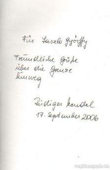 Mendel, Rüdiger - Achtung Staatsgrenze (dedikált) [antikvár]