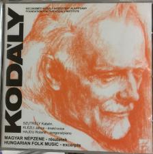 Kodály Zoltán - MAGYAR NÉPZENE CD