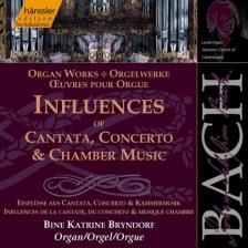 Bach - INFLUENCES CD BINE KATRINE BRYNDORF