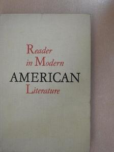 Ernest Hemingway - Reader in Modern American Literature [antikvár]