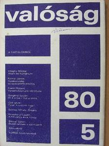 Bányai Gábor - Valóság 1980. május [antikvár]