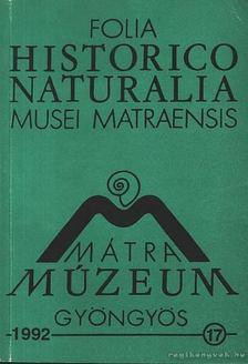 Varga András - Mátra Múzeum Gyöngyös 17. [antikvár]
