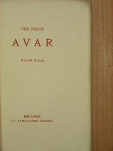 Kiss József - Avar [antikvár]