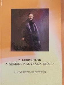 """Dinnyés István - """"Leborulok a nemzet nagysága előtt"""" [antikvár]"""
