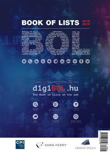 Book Of Lists - Listák könyve 2018-2019