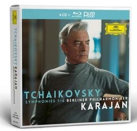 Tchaikovsky - SYMPHONIES 1-6 4CD+BLU-RAY KARAJAN
