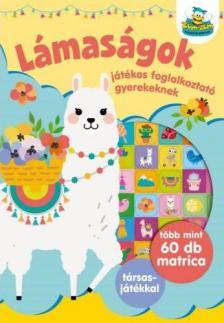 Szalay Könyvkiadó - Lámaságok - Játékos foglalkoztató gyerekeknek