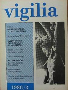 Albert Görres - Vigilia 1986. március [antikvár]