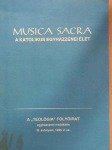 Buxbaum Miklós - Musica Sacra - A katolikus egyházzenei élet 1989/2. [antikvár]