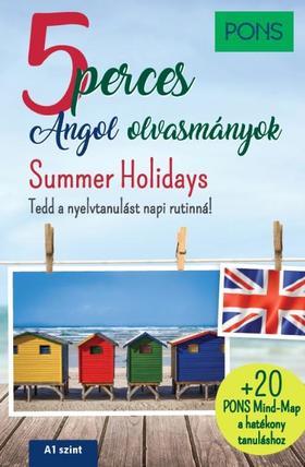 PONS 5 perces angol olvasmányok Summer Holidays