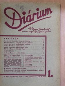 Bárány Tamás - Diárium 1944. január [antikvár]