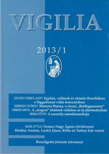 Lukács László - Vigilia 2013/1 [antikvár]