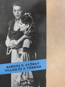 Kardos G. György - Villon és a többiek [antikvár]