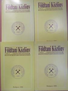 Ádám László - Földtani Közlöny 2006/1-4. [antikvár]
