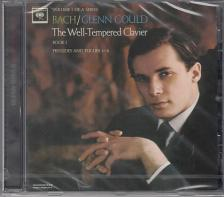 Bach - THE WELL-TEMPERED CLAVIER BOOK I PRELUDES & FUGUES 1-8 CD GOULD