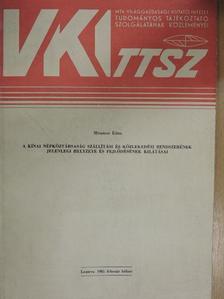 Mészáros Klára - A Kínai Népköztársaság szállítási és közlekedési rendszerének jelenlegi helyzete és fejlődésének kilátásai [antikvár]